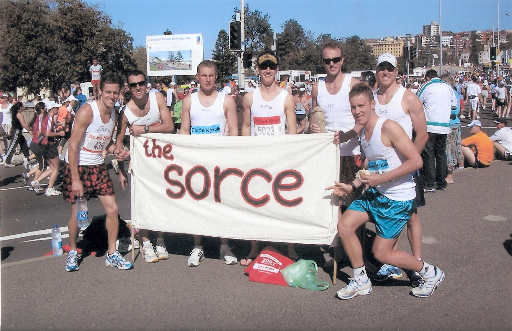 The SORCE at the 2007 City to Surf